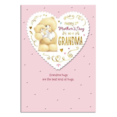 Grandma 1st Mothers Day Forever Friends Mothers Day Card