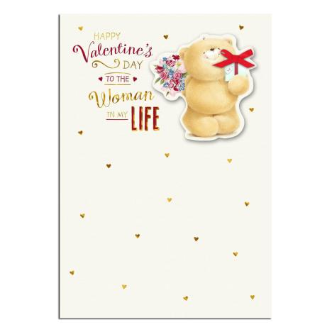 Woman In My Life Forever Friends Valentines Day Card