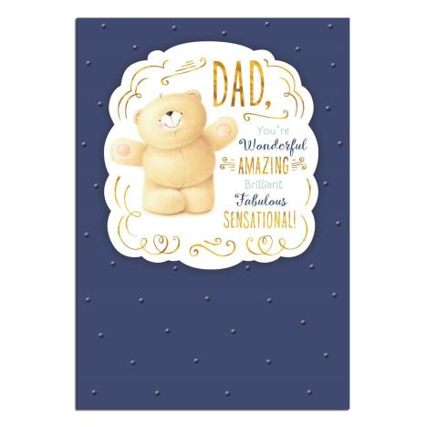 Amazing Dad Forever Friends Birthday Card