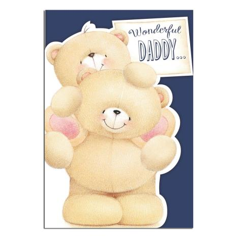 Wonderful Daddy Forever Friends Birthday Card