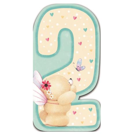 2nd Birthday Forever Friends Birthday Card