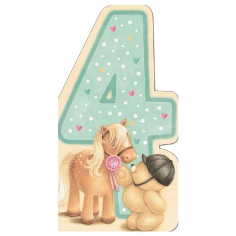 4th Birthday Forever Friends Birthday Card