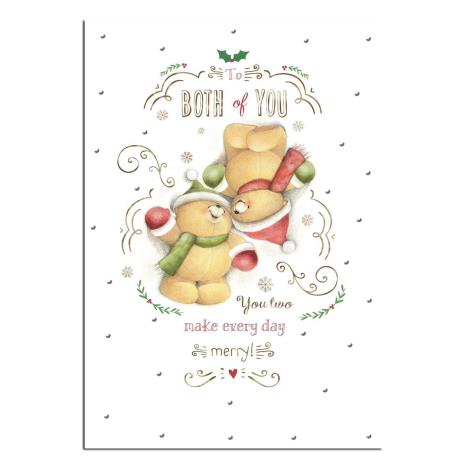 Both Of You Forever Friends Christmas Card