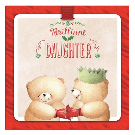 Daughter 3D Animated Forever Friends Christmas Card