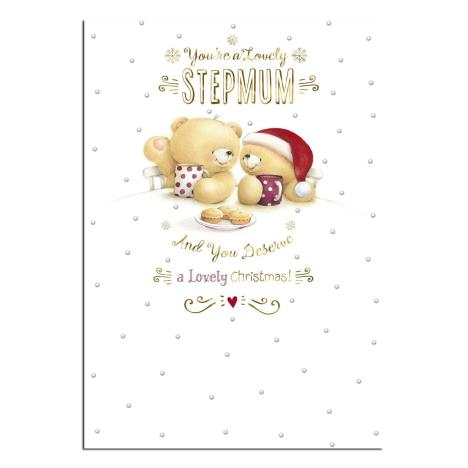 Lovely Stepmum Forever Friends Christmas Card