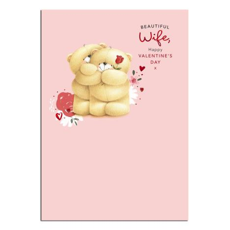 Beautiful Wife Forever Friends Valentines Day Card