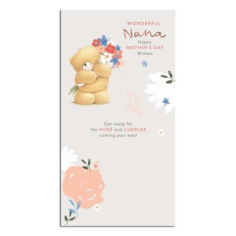 Wonderful Nana Forever Friends Mothers Day Card