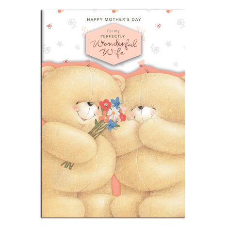 Wonderful Wife Large Forever Friends Mothers Day Card