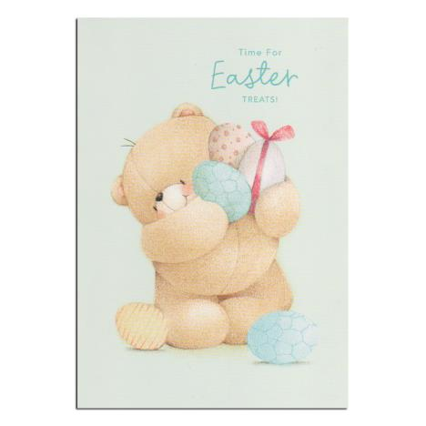 Easter Treats Forever Friends Easter Card (Pack of 8)