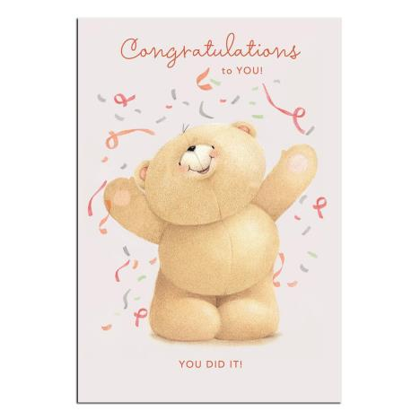 Congratulations To You Forever Friends Card