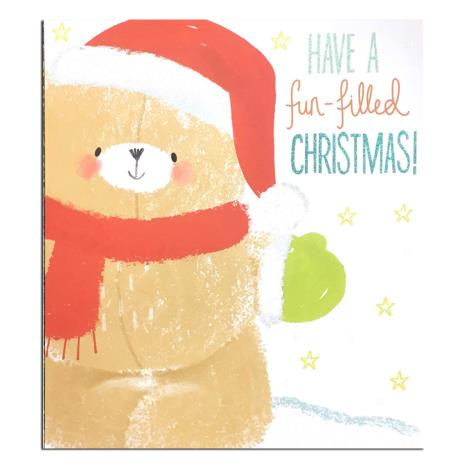 Fun Filled Christmas Forever Friends Christmas Card