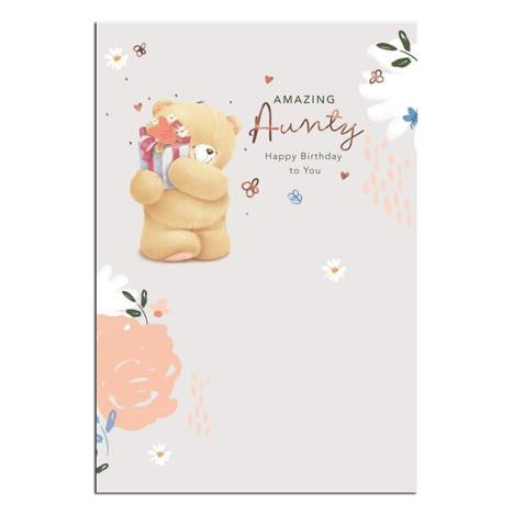 Amazing Aunty Forever Friends Birthday Card
