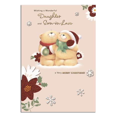 Daughter & Son In Law Forever Friends Christmas Card