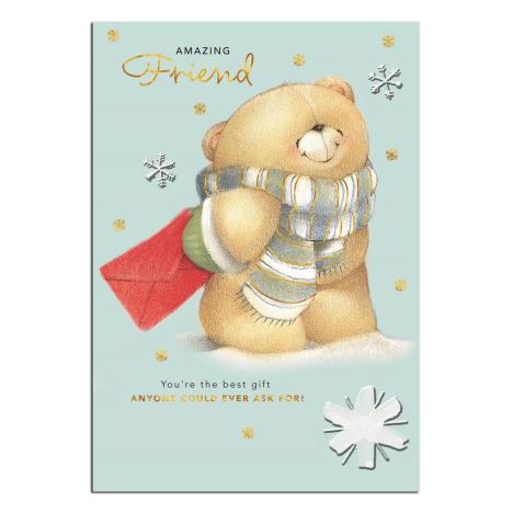 Amazing Friend Forever Friends Christmas Card