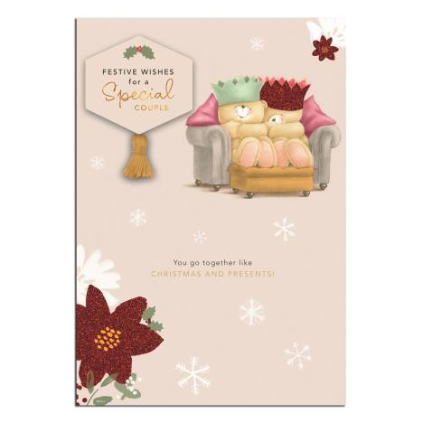 Special Couple Forever Friends Christmas Card