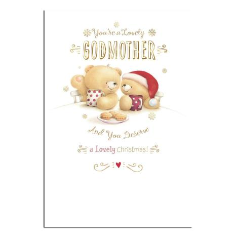 Lovely Godmother Forever Friends Christmas Card