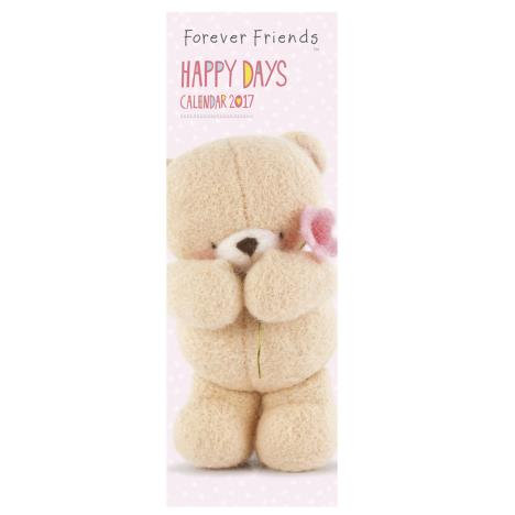 Forever Friends Happy Days Slim Calendar 2017