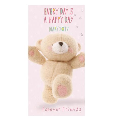 Forever Friends Slim Diary 2017
