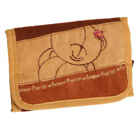 Forever Friends Soft Fabric Purse Wallet
