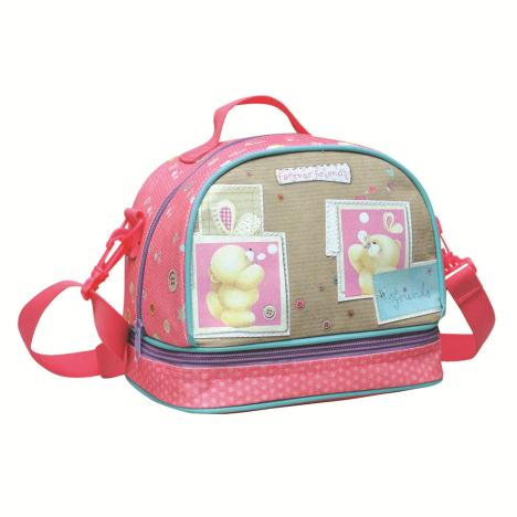 Forever Friends Pink Lunch Bag