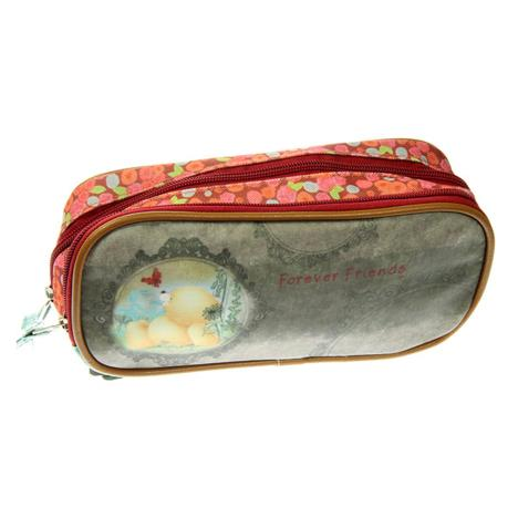 Forever Friends 2 Pocket Oval Pencil Case