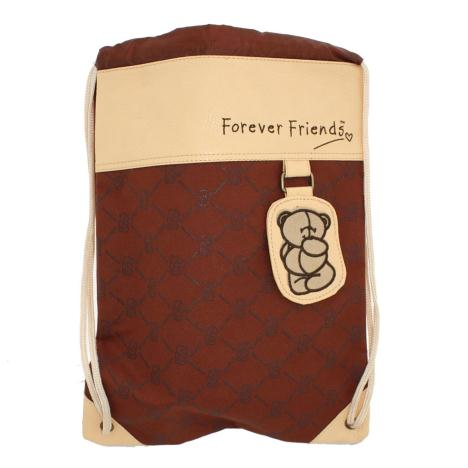 Forever Friends Drawstring Bag with Tag