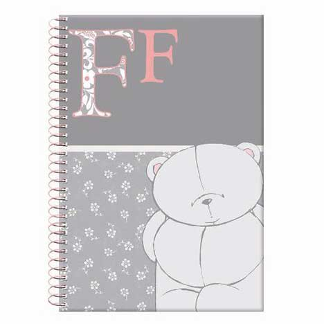 A4 Soft Cover Forever Friends Spiral Notebook  (80 pages)