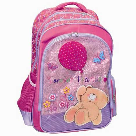 Balloon & Flowers Forever Friends Oval Backpack