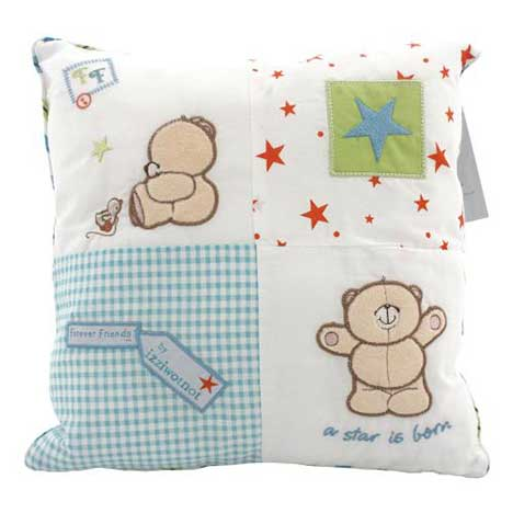 Forever Friends Little Star Square Cushion