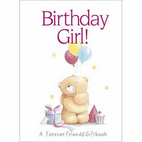 Birthday Girl Forever Friends Book Forever Friends Official Store