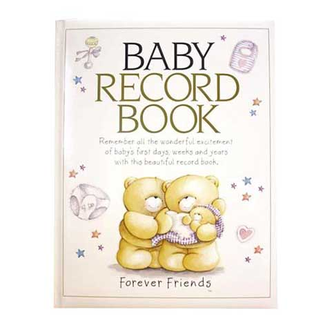 Forever Friends Baby Record Book
