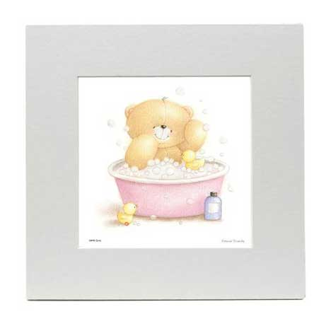 Bath time Forever Friends LIMITED EDITION print