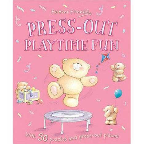 Forever Friends Press-Out Playtime Fun Book
