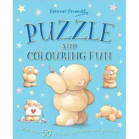 Forever Friends Puzzle and Colouring Fun Book
