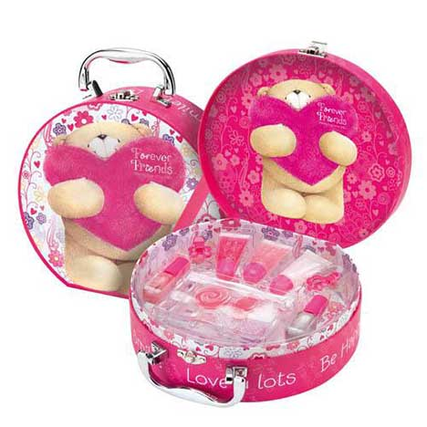 Cosmetic Case Forever Friends Gift Set