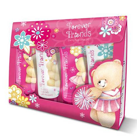 Shower Sensations Forever Friends Gift Set