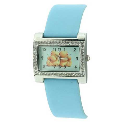 Forever Friends Watch Blue Strap