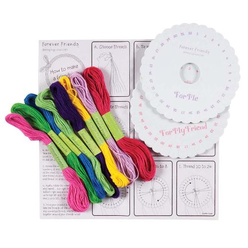 Little Friends Forever Friends Friendship Bracelet Making Kit