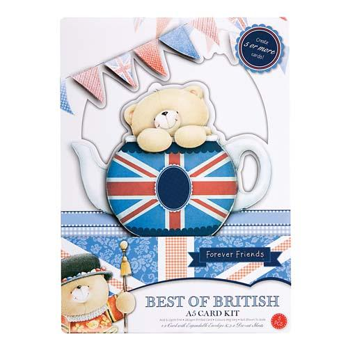 A5 Time for Tea Best of British Card Kit