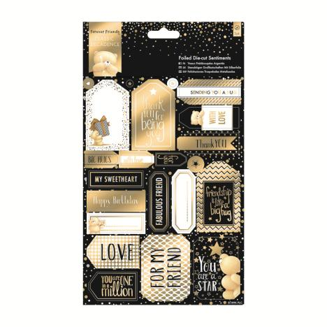 Classic Decadence Forever Friends Die-cut Sentiments