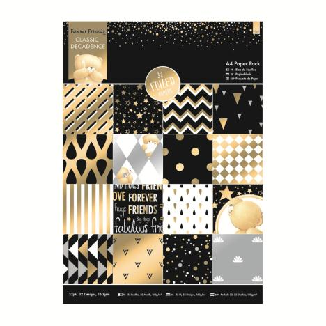 A4 Classic Decadence Forever Friends Paper Pack