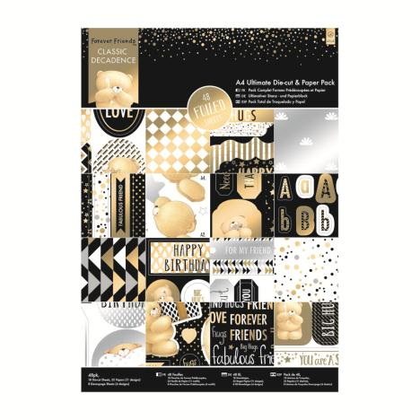 A4 Classic Decadence Ultimate Die-cut & Paper Pack