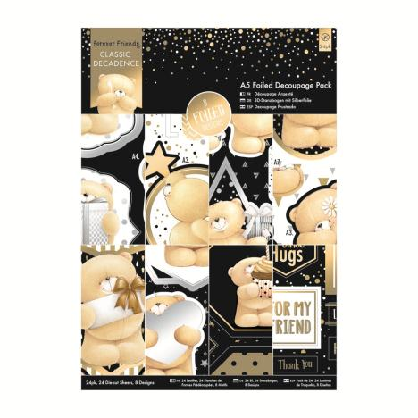 A5 Classic Decadence Forever Friends Decoupage Pack