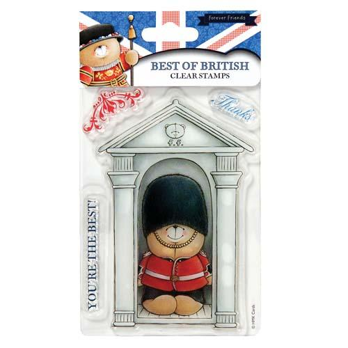 Queens Guard Best of British Mini Clear Stamps