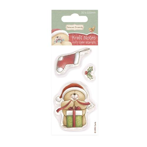 Christmas Stocking Forever Friends Mini Clear Stamps