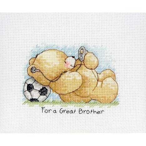 Great Brother Mini Forever Friends Cross Stitch Kit