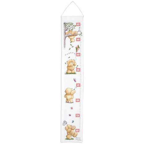 Play Days Height Chart Forever Friends Cross Stitch Kit