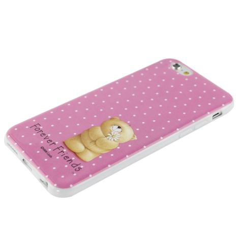 Forever Friends Spotty Pink iPhone 6 Gel Case