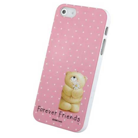 Forever Friends Spotty Pink iPhone 5/5S Gel Case