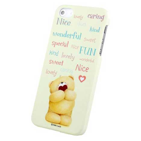 Forever Friends Mellow Yellow iPhone 5/5S Hard Back Case